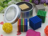 Большой неокуб — 216 шариков диаметром 5 мм. (3 цвета)