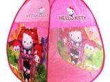 Детская палатка домик «Hello Kitty» X004-C
