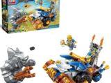 Конструктор Enlighten Brick «Воины фэнтези: Голем против Орла-молотилки» (261 деталь)