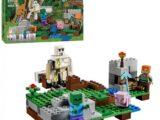 Конструктор My world Лего Майнкрафт Железный голем (220 деталей)