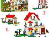Конструктор Майнкрафт my world «Семейная вилла 3в1» (аналог lego) 883 детали