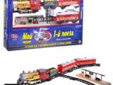 Железная дорога «Мой первый поезд» 580 см, Play Smart, свет+звук