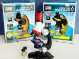 Детский микроскоп с обьективами