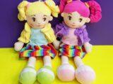 Мягконабивные куклы «Леночка»