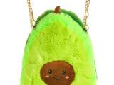 Детская сумочка «Авокадо» из экомеха